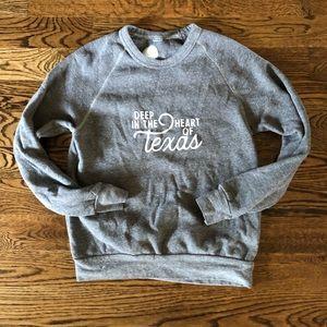 Tops - Deep in the heart of Texas sweatshirt top Waco